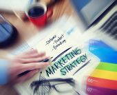 Marketing Strategy Customer Product Branding Concept