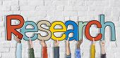 Research Word Concepts Isolated on Background