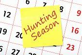 Hunting Season Reminder