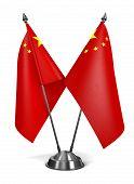 China - Miniature Flags.
