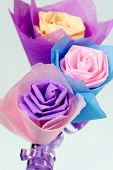 Origami of flowers