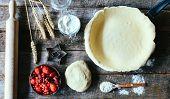 Preparing The Pie