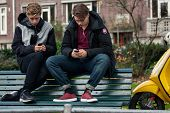Teenagers With Cellphones