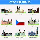 Cities of Czech Republic