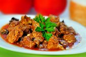 Pork Meat Stew