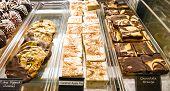 Desserts In A Case