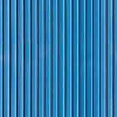Ridged Blue Metal Wall, Seamless Texture