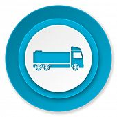 truck icon, cargo sign
