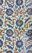 Tiled Mosaic Wall