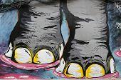 Mural art in Downtown Brooklyn