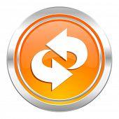 rotation icon, refresh sign