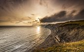 Sunset On The Dorset Coast