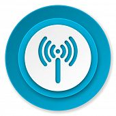 wi-fi icon, wireless network sign