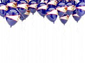 Balloon Frame With Flag Of American Samoa