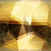 Abstract Modern Polygonal Background, Vector