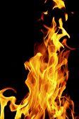 Blaze Fire Flame Texture Background