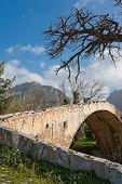 Venetian Bridge At Preveli