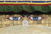 Eyes Of Boudhanath