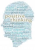 Words Defining Positive Thinking