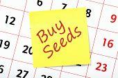 Buy Seeds Reminder
