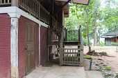 Old Asian Traditional House