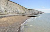 Coastline At Brighton. Sussex. England