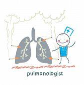 pulmonologist with light smoker
