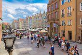 Gdansk-old City-long Market Street