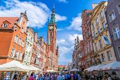 Gdansk-old City-long Market Street