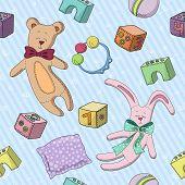 Pattern Of Children's Toys