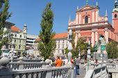 Capital city of Slovenia - Ljubljana poster