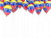 Balloon Frame With Flag Of Venezuela