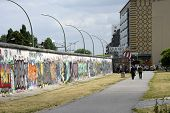 Back of the East Side Gallery