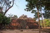 pic of mystique  - One of ancient temples in sacred city Angkor - JPG