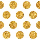 pic of gold  - Vintage Geometric Glittery Gold Background   - JPG