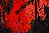 Abstract Tar Texture