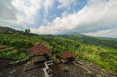 stock photo of mystical  - Mystical 10 years abandoned  hidden rotten hotel in Bali - JPG