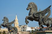 image of pegasus  - Large statues of Pegasus - JPG