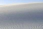 Постер, плакат: Rippled Patterns in Sand Dunes