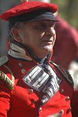 British Officer at War of 1812 Reenactment