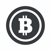 picture of bitcoin  - Bitcoin symbol in circle - JPG
