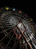 Ferris Wheel at Night at a Maine Fair