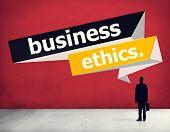 image of honesty  - Business Ethics Integrity Honesty Trust Concept - JPG