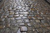 Paris Antique Stone Roadway