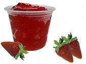 Strawberry Gelatindessert
