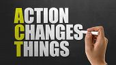 ACT - Action Changes Things poster