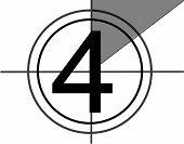 Film countdown at No 4
