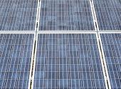 Fotovoltaic panels clos-up