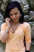 Casual Teen Girl