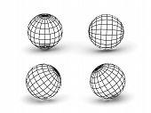 Spheres. 3D